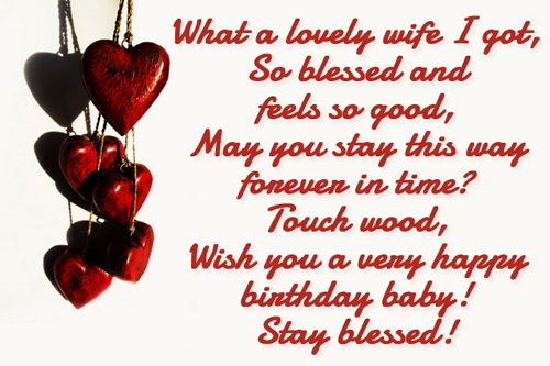 38 Wonderful Wife Birthday Wishes Quotes Image For All The Husbands Lovely Happy Birthday Wishes Quotes