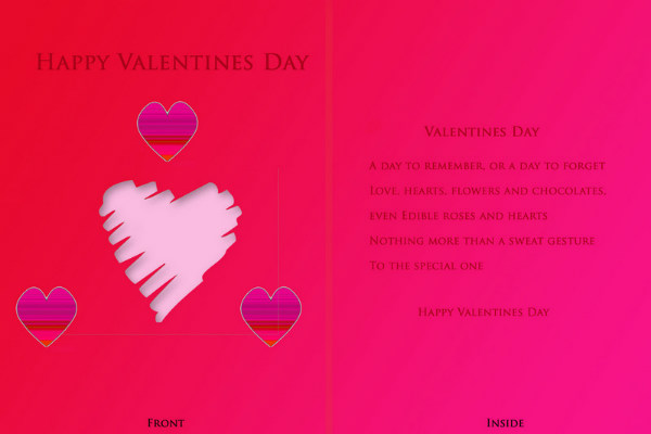 Wish You A Very Happy Valentine Day Quotes Image