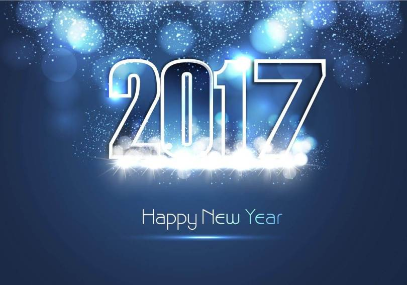 Wish You A Very New Year 2017 Wishes Wallpaper