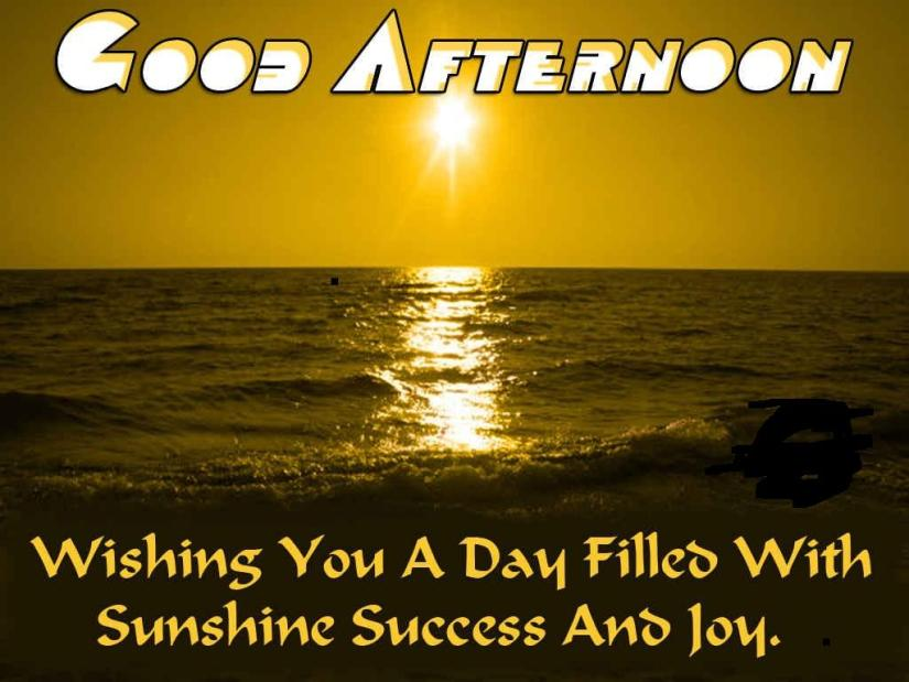 Wishing You A Good Afternoon Wishes Image