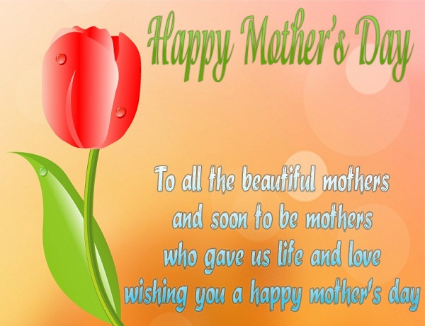 Wishing You A Happy Mothers Day Greetings Message Image