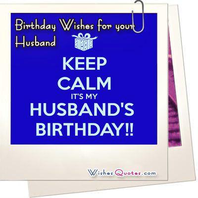 Wonderful Birthday Wishes For My Dear Husband Image