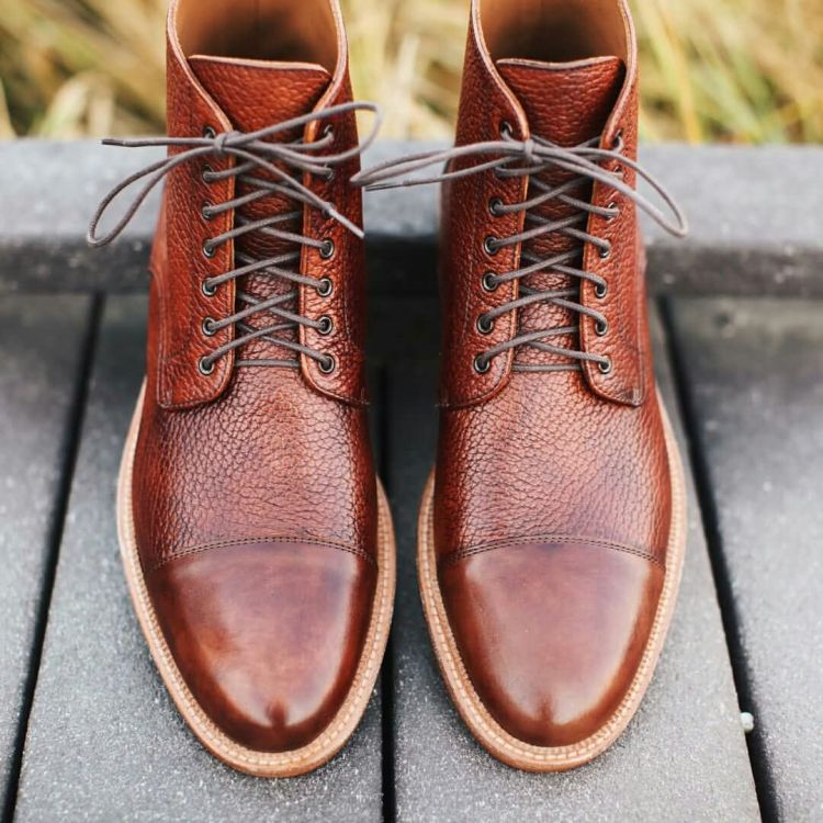 Wonderful Brown Leather Shoe Looks Amazing After Polish