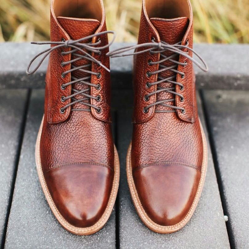 Wonderful Brown Leather Shoe Looks Amazing After Polish