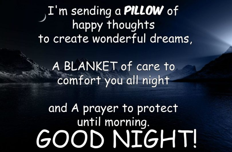 Wonderful Dreams Good Night Wishes Message Image For Facebook