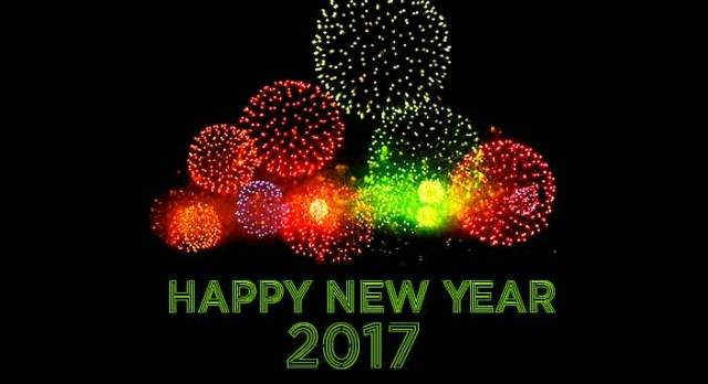 Wonderful Happy New Year 2017 Wishes Wallpaper