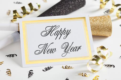 Wonderful Happy New Year Greetings E Card Image