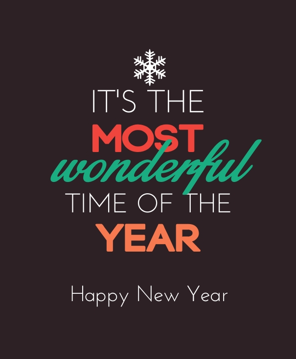Wonderful Happy New Year Message