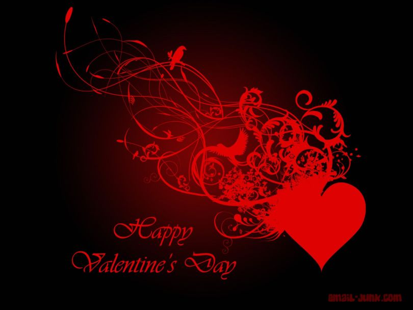 Wonderful Happy Valentine Day Greeting Wallpaper