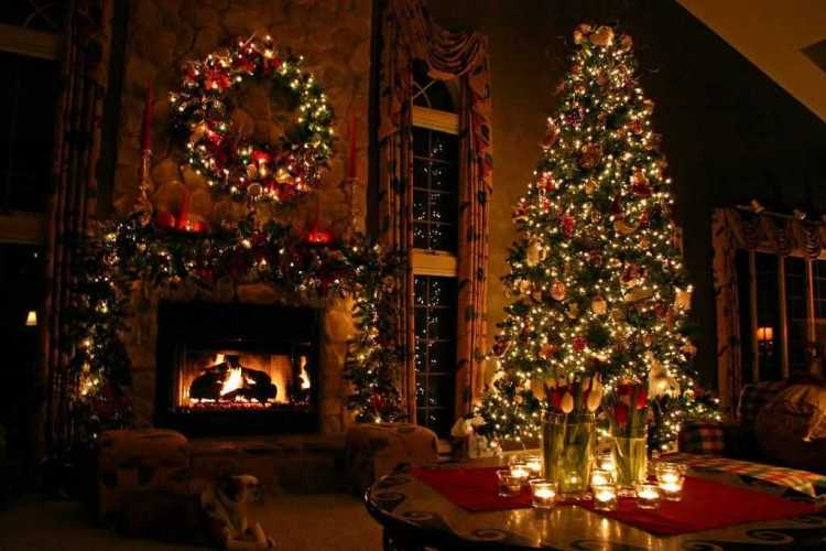 Wonderful Merry Christmas Tree Wishes Image