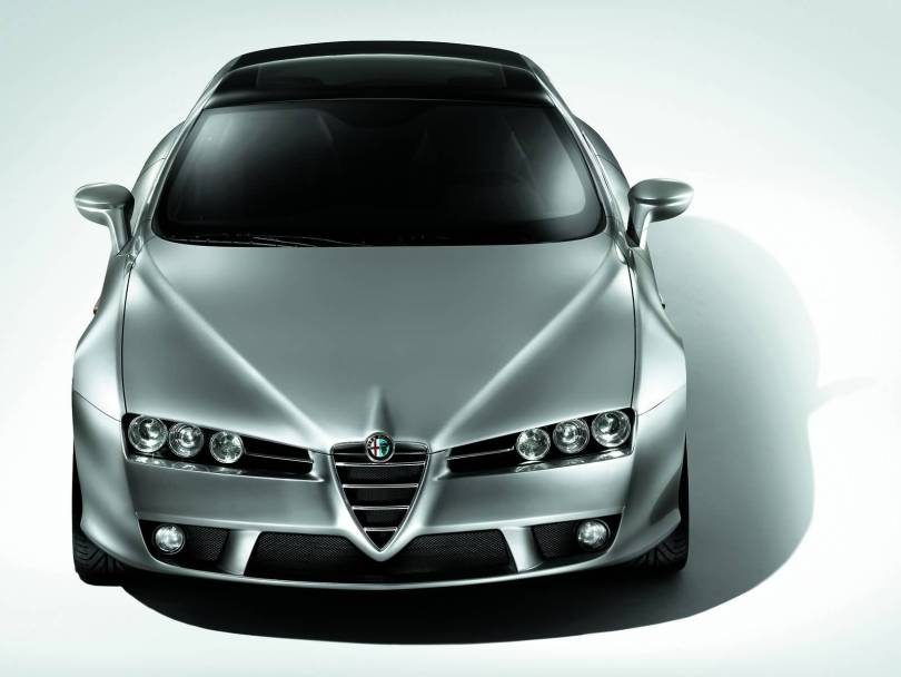 Wonderful Silver Alfa Romeo Brera Car