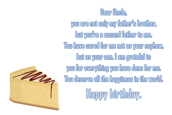 You Are The Best Uncle In The World Happy Birthday