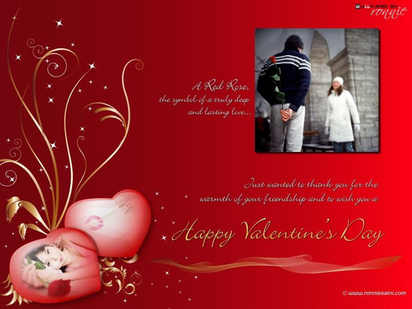 Your Smile Sets My Heart On Fire. Happy Valentine Day Quotes Image