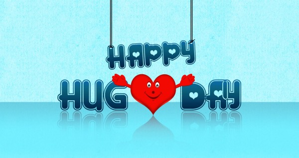 happy Hug Day Wallpaper