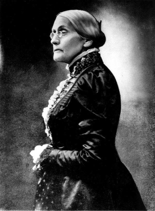 15th February Susan B. Anthony Picture