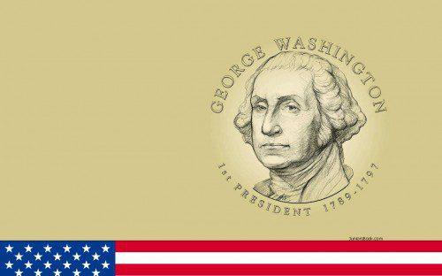 1st President George Washington Birthday Wishes Image