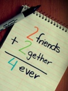 2 Friends Together Friends Forever Friend Happy Friendship Day Wishes Image
