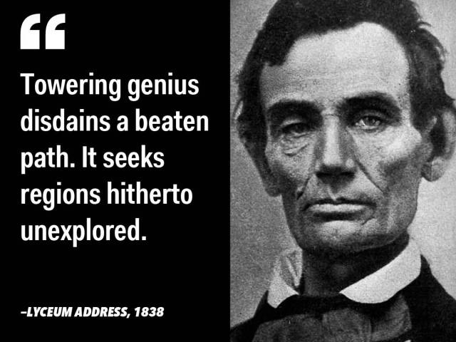 Abraham Lincoln Quotes Sayings 13