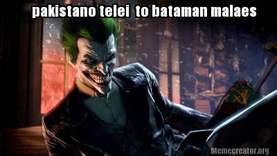 Batman Memes Pakistani Telei To Batman Malaes Images