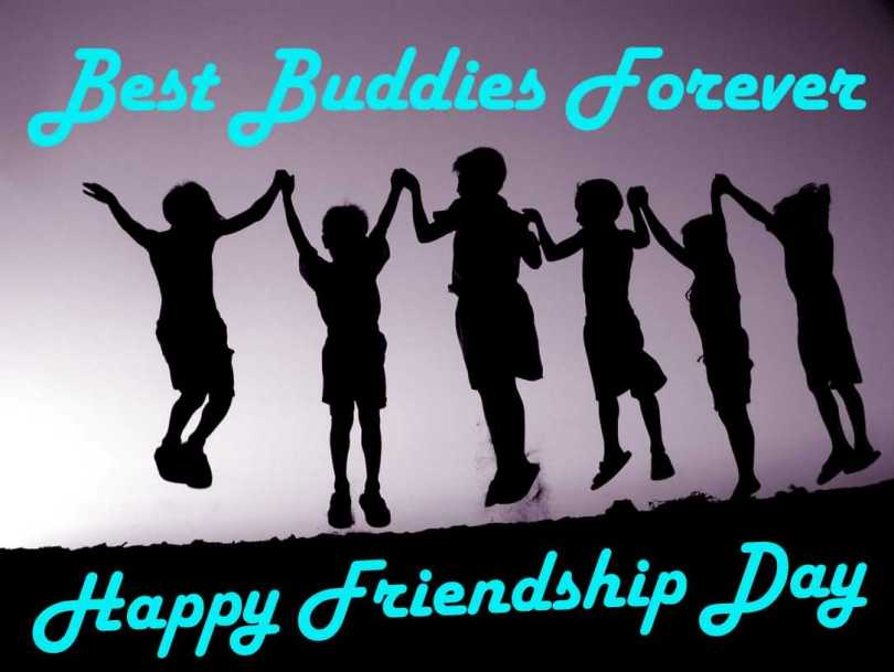 Best Buddies Forever happy Friendship Day Wishes Image