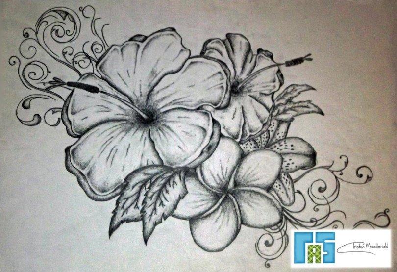 Best Ever Flower Tattoo Art For Girls