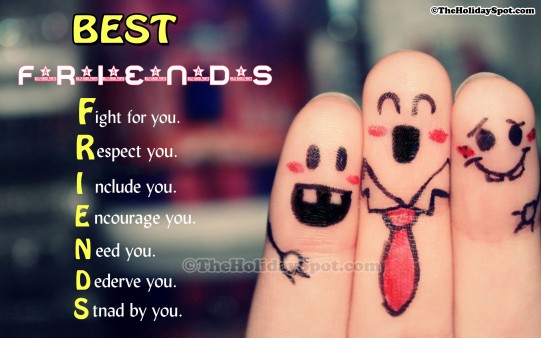 Best Friends Meaning Happy Friendship Day Wishes Image