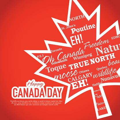 Best Greeting For Happy Canada Day Image