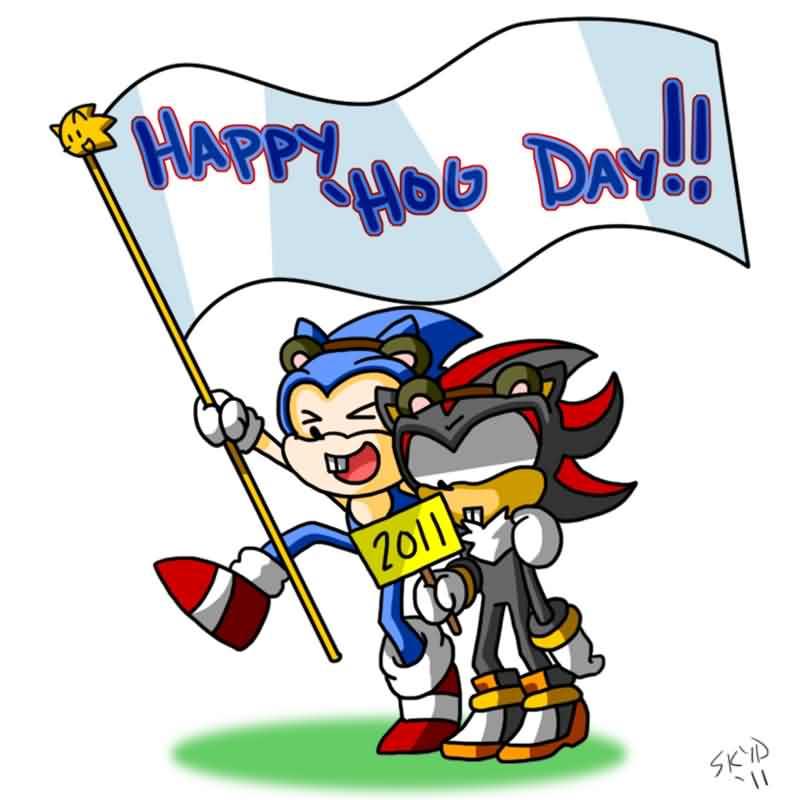 Best Wishes Happy Groundhog Day