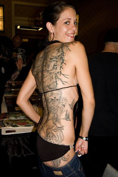 Brilliant Extreme Tattoo For Girls