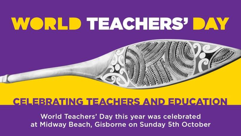 Celebrating World Teacher's Day Wishes Image
