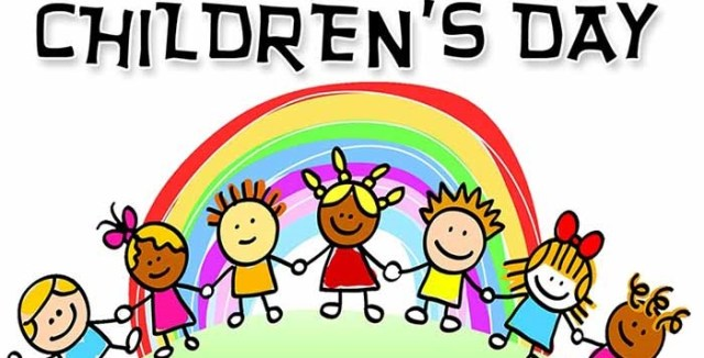 Children's Day Greetings Cartoon Image