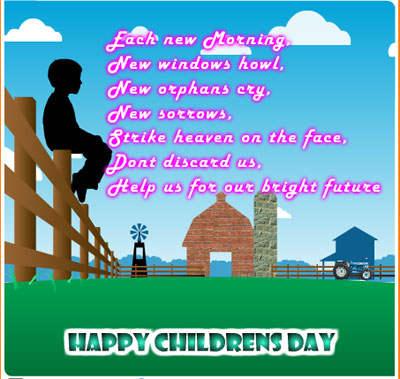 Children's Day Message Image