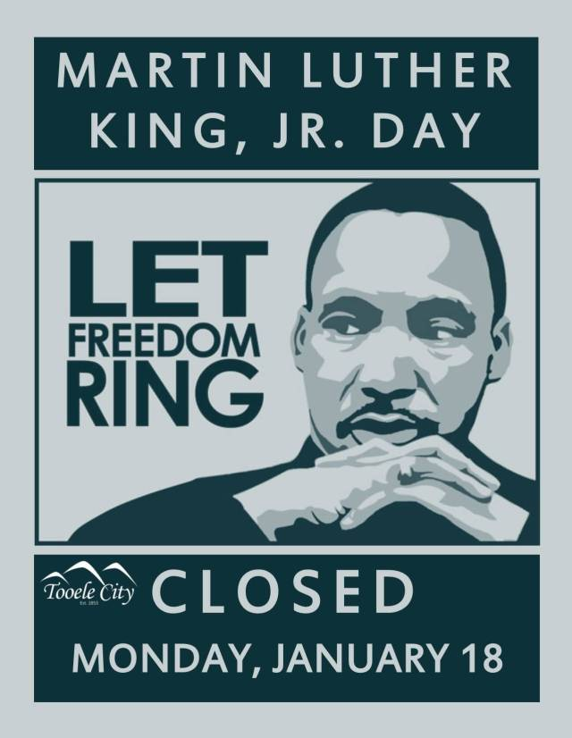 Closed January 18 Martin Luther King Jr Day Picture