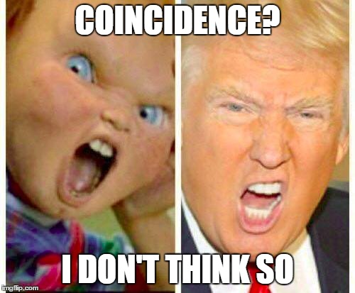 Coincidence I Don't Think So Donald Trump Funny Meme