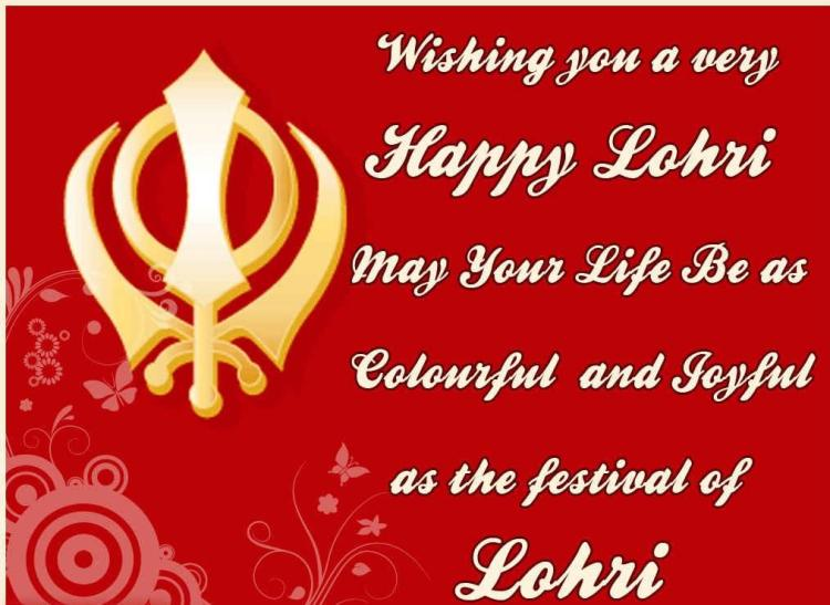 Colorful And Joyful As The Festival Lohri Wishes Image