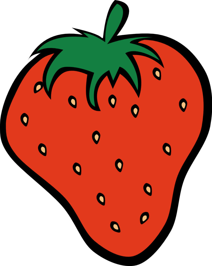 Crazy Fruit Tattoo Design For Girls