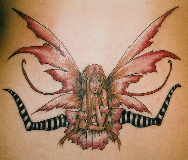 Creative Fairy Tattoo Picture For Girls
