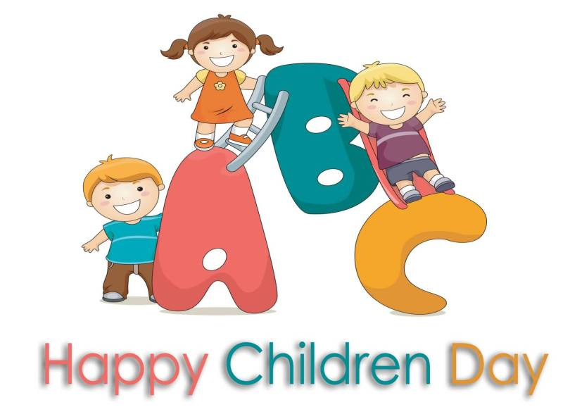 Cute Happy Children's Day Greetings Image