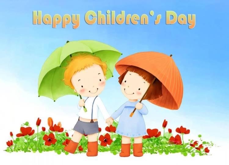 Cute Happy Children's Day Image