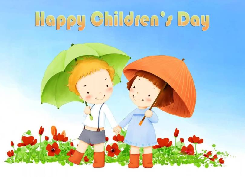 Cute Happy Children's Day Image