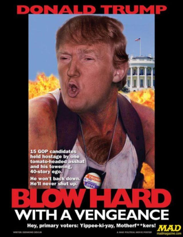 Donald Trump Meme Donald Trump Blow Hard