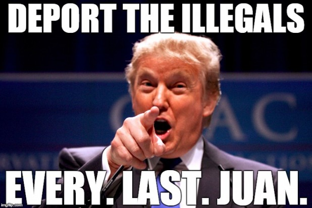 Donald Trump Memes Deport The Illegals Every. Last . Juan Picture