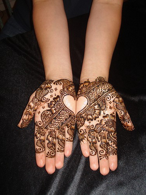 Extremely Again Henna Hand Tattoo Designs For Girls
