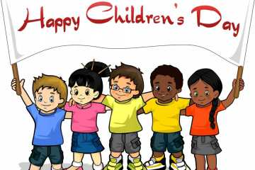 Fabulous Happy Children Day Graphic