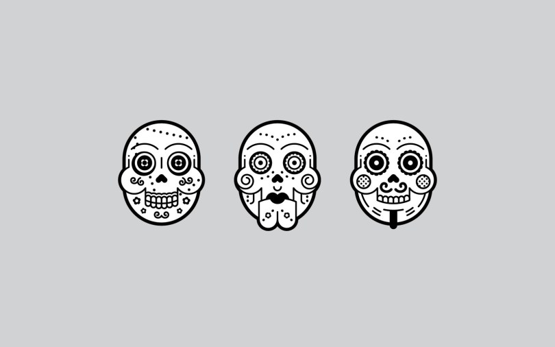 Famous Day Of The Dead Tattoo For Boys