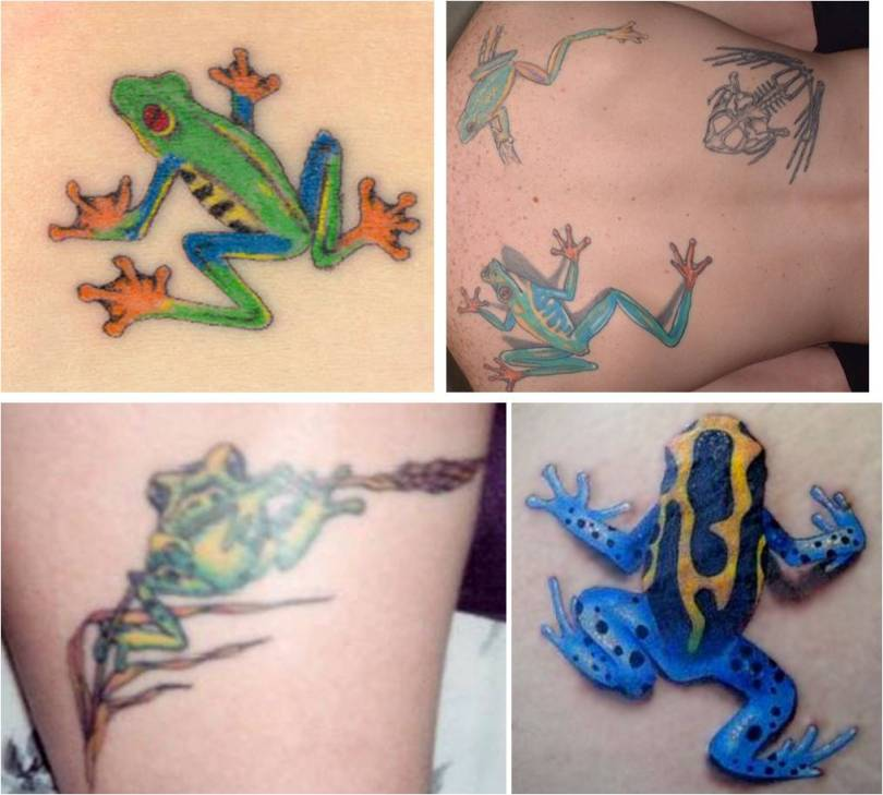 Famous Frog Tattoo Pictures For Boys