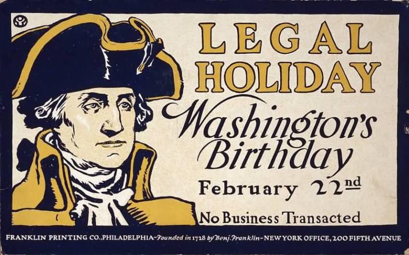 February 22nd Washington Birthday Wishes Image