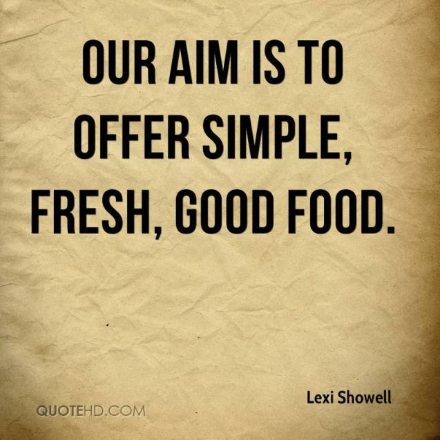 Food Quotes and Sayings 27