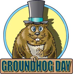 For Friends Happy Groundhog Day Wishes