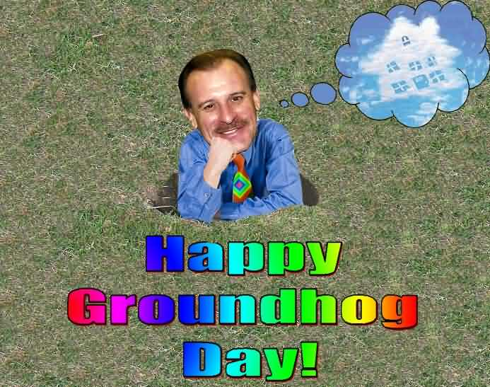Funny Happy Groundhog Day Image
